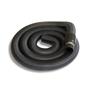 Uitrekbare slang zwart (1,5m tot 6 m) 002015