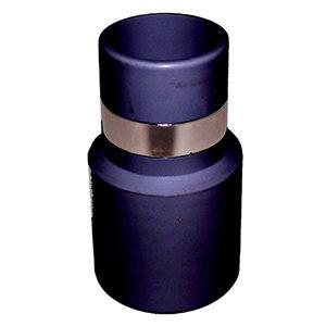 Slangmof met metalen ring 35 mm 002019