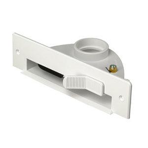 Plintzuiger wit met aansl materiaal 003065