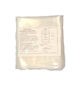 Plastic zak tbv filterloze stofzuigunit 002125